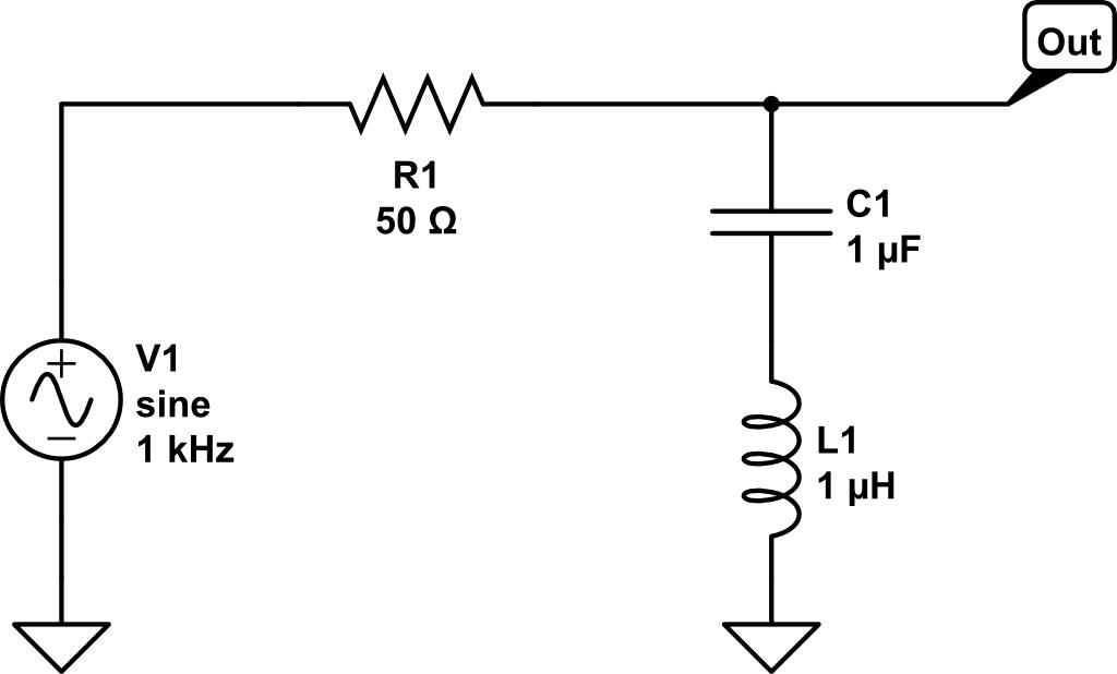 circuito lc serie  funcionamiento de las redes en el campo